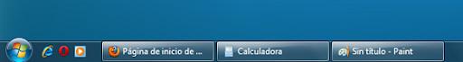 w7barra2 Cómo convertir la barra de tareas de Windows 7 en la de XP