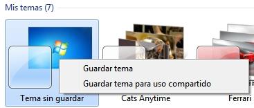 greenshot 2010 02 25 09 24 12 Cómo crear un tema de escritorio para Windows 7