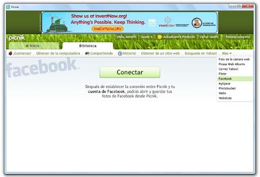 greenshot 2010 04 12 10 36 15 Edita tus fotos de Facebook desde Picnik