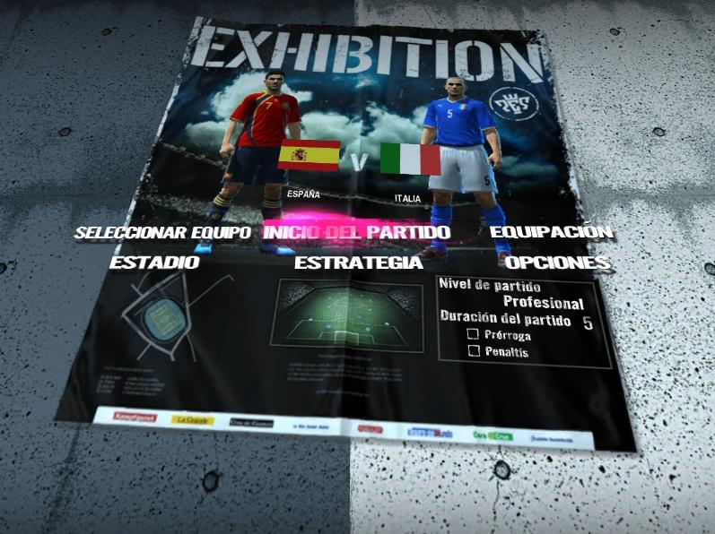 greenshot 2009 09 17 12 13 23 Demo de Pro Evolution Soccer 2010: análisis y descarga