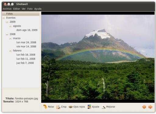 screenshot1 Shotwell reemplaza a F-Spot en Ubuntu 10.10