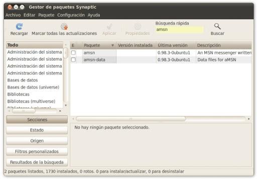 syn1 Cinco formas de instalar programas en Ubuntu