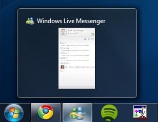 4 Cómo evitar que Windows Live Messenger muestre dos iconos en Windows 7
