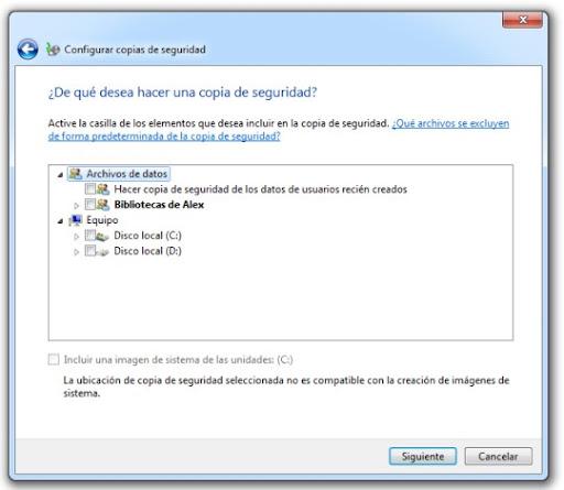 3 Cómo hacer una copia de seguridad con Windows 7