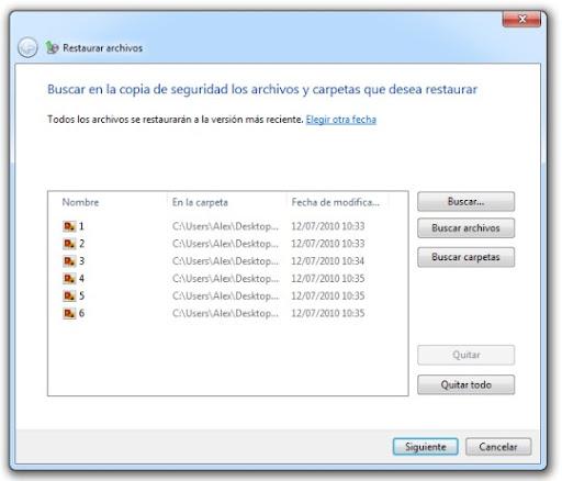 7 Cómo hacer una copia de seguridad con Windows 7