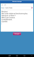 Screenshot of ameli, l'Assurance Maladie