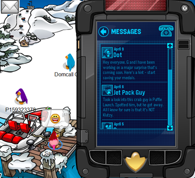 how to become a spy on club penguin