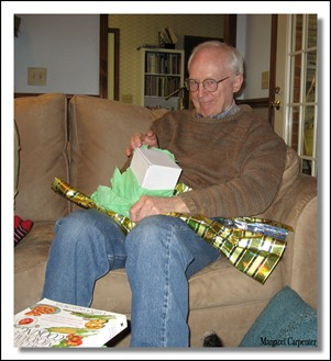 Chuck opening present