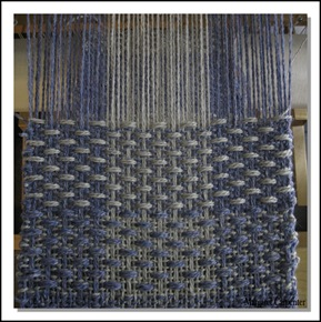 Sample Weaving almost done
