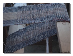 4 shaft crackle from side on loom