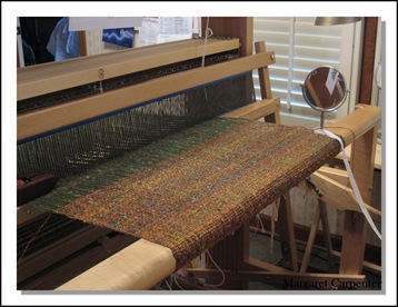 weaving begun 2