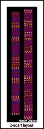 2 scarf layout