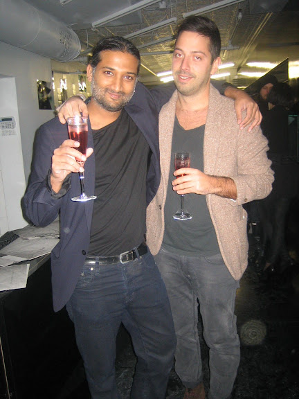 Photographer Ruvan (left) with friend (right)