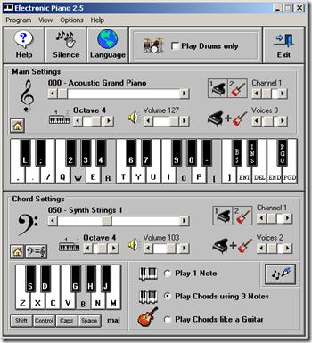 Kumpulan Software Untuk Menggunakan Keyboard Sebagai Piano Vitual