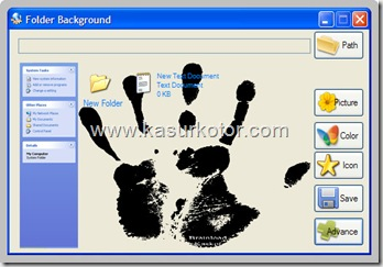 Mengganti Background Folder di Windows Xp
