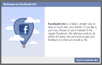 Alternatif Lain Membuka Facebook Dengan Cepat