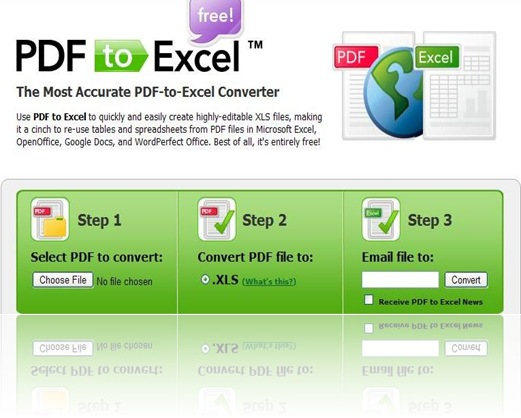 Mengubah Table di PDF ke Excel Spreadsheets