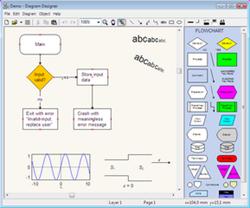 Membuat Flowcharts dan UML Diagrams - Diagram Designer