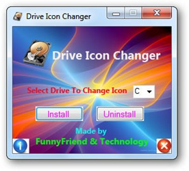 Mengganti Icon Drive Hard Disk di Windows 7