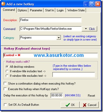 Cara Membuat Keyboard Shortcut Sebuah Software/Program