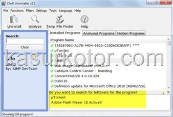 ZSoft Uninstaller Menjaga Sistem Tetap Bersih Saat Uninstall Program