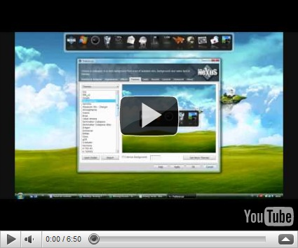 Nexus Dock Menampilkan Aplikasi Yang Paling sering Dipakai di Desktop