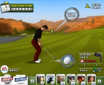 EA Sports Golf Game