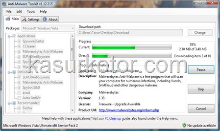 Anti-Malware Toolkit: Free Security Software