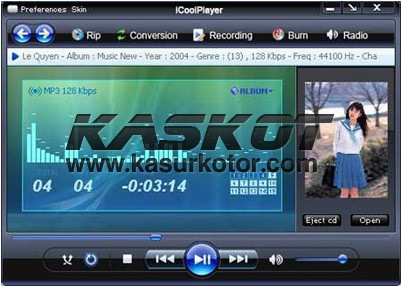 iCool Player, Audio dan Video Player Dengan Radio Online