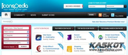 Kumpulan Situs Tempat Mencari dan Download Icon Gratis dengan Kualitas Terbaik