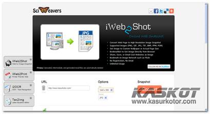 Convert Halaman Website ke Gambar dengan Resolusi Tinggi