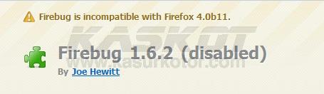 Install Addons yang Tidak kompatibel/Incompatible di Firefox 4.0