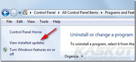 Cara Uninstall Windows 7 SP1