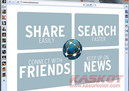 Download RockMelt, Browser untuk Facebook dan Twitter-an