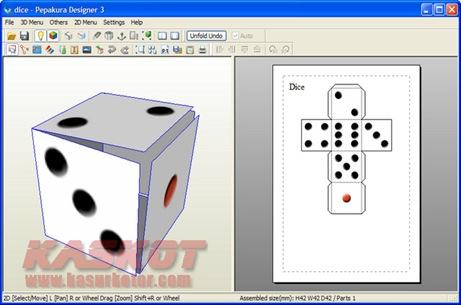 Pepakura Designer - papercraft