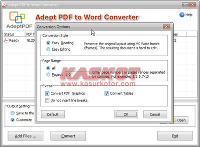 Download Adept PDF to Word Converter + Serial Number GRATIS