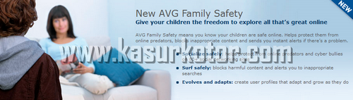 AVG Family Safety - Parental Control Software