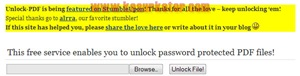Unlock-PDF