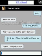 Facechat, Aplikasi Facebook Chat untuk Blackberry