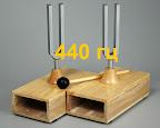 стандартный камертон л=78 см или 440 Гц