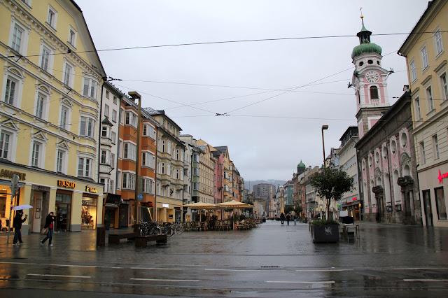 Old town street,  Innsbruck Austria