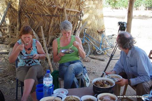 Repas chez un paysan