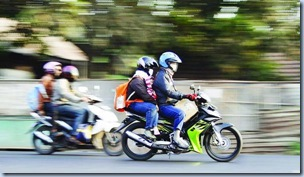 Biker need motorcycle insurance