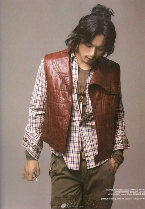 Asian Cool Men Haircuts joo jin mo