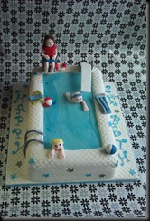 Birthday Cake Swimming Pool
