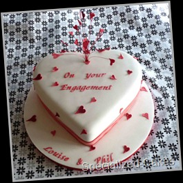 Hearts-Engagement-Cake