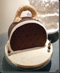 Brown-Handbag-Cake