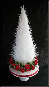 Spikey-Tower-wedding-Cake