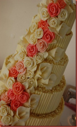 Close up cake Alan and Ingid Great Hall at mains