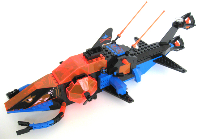 Lego Shark Toys : Bricker construction toy by lego shark s crystal